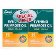Sona Evening Primrose Oil 500mg 60x2