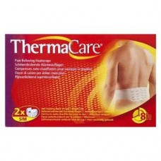 Thermacare Heat Wrap Lower Back & Hip (2Single Use Heatwraps)